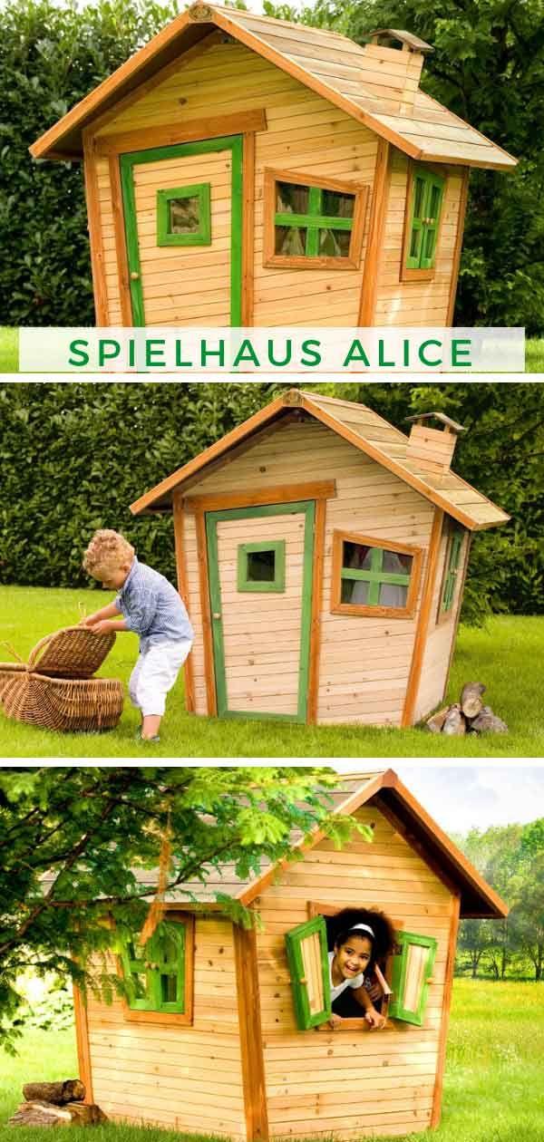 Spielhaus Alice Spielhaus, Kinderspielhaus, Märchenhaus
