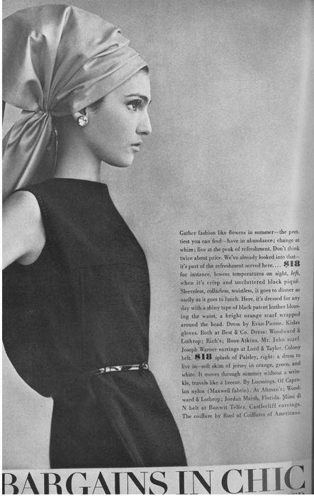 model - Bernadetta Barzini