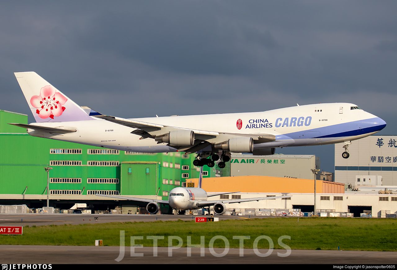 Airline China Airlines Registration B18708 Aircraft