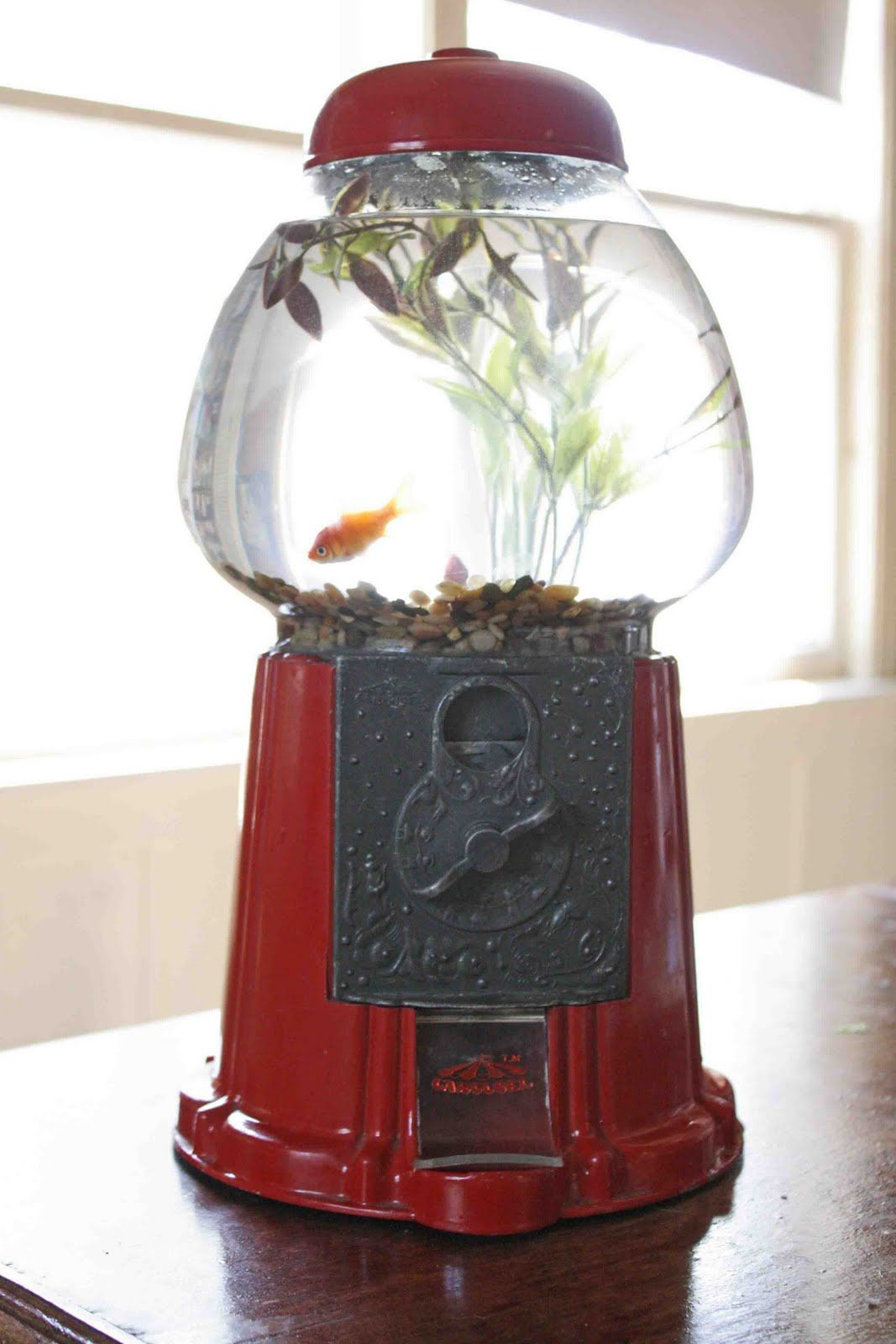 Disney Family Recipes Crafts And Activities Unique Fish Bowls Gumball Machine Diy Upcycle