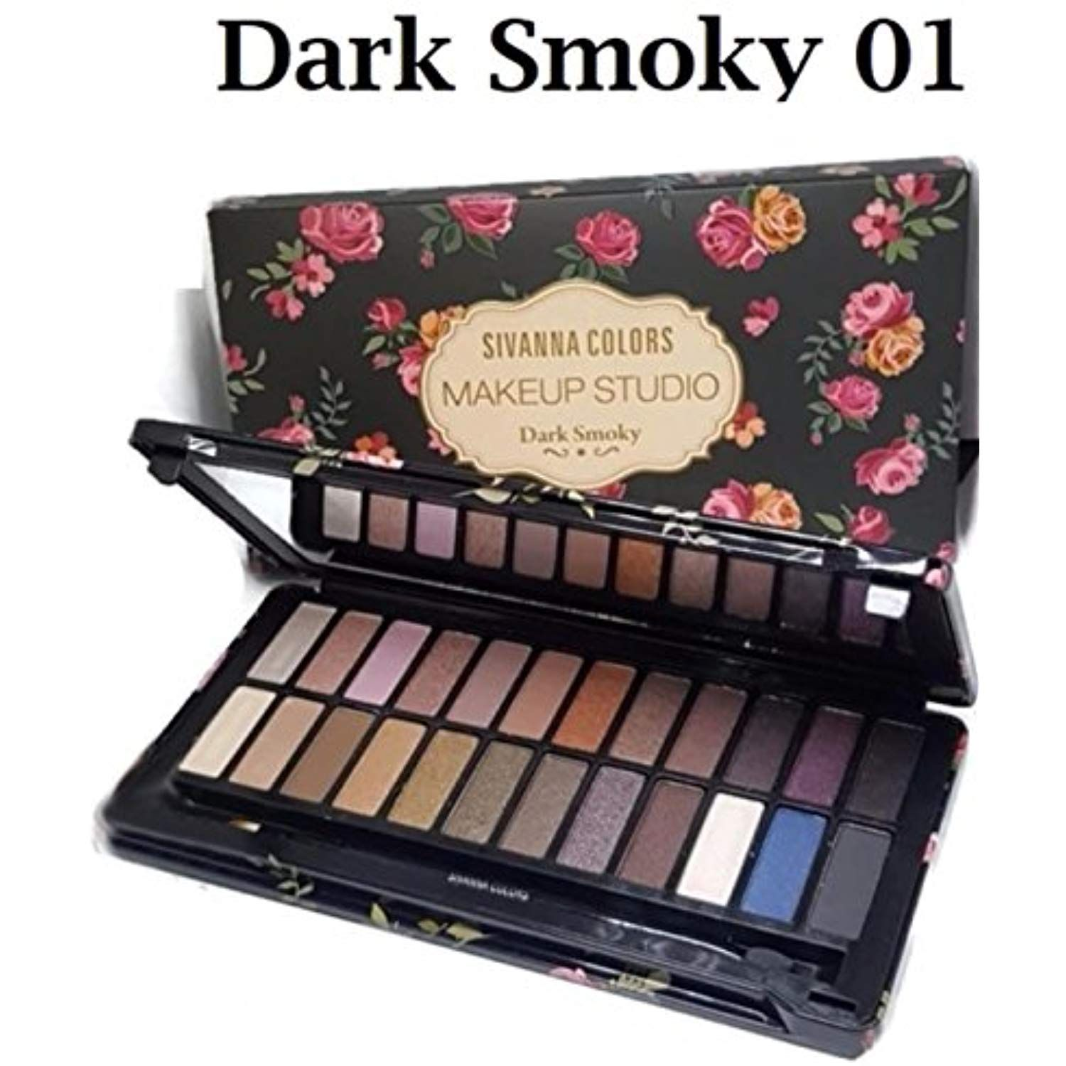 SIVANNA COLORS MAKEUP STUDIO A new 24 color eye shadow