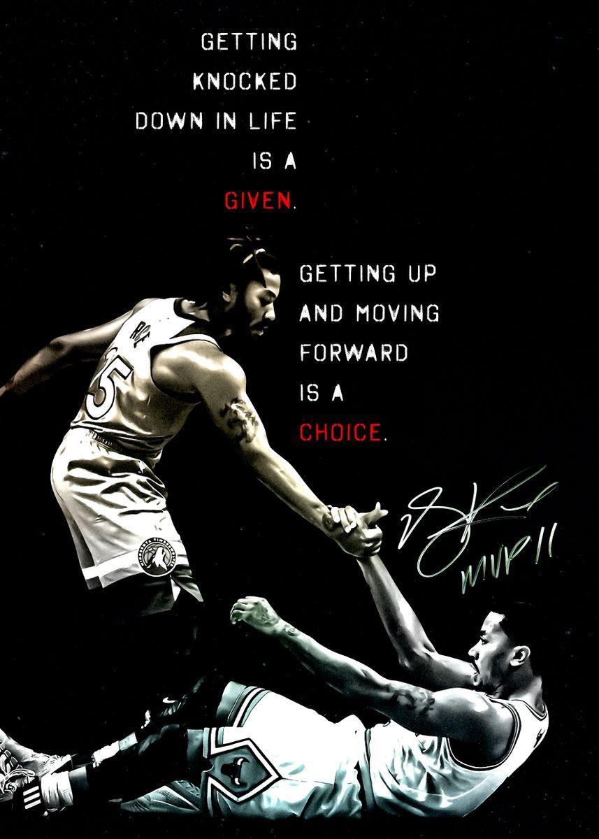 nba derrick rose poster poster print