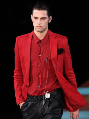 red sport coat for men give you right combination red red red