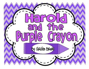 Harold and the purple crayon writing activities crayons for Harold and the purple crayon coloring pages