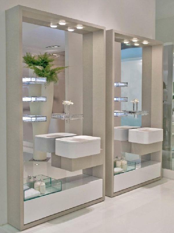 Nice 25+ Best Bathroom Mirror Ideas For A Small Bathroom