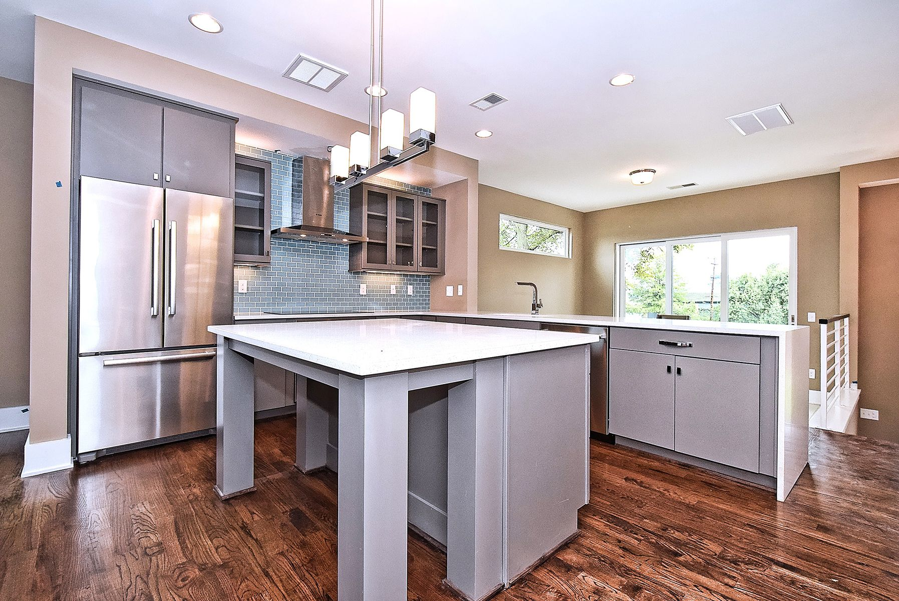 Kitchen Cabinets Charlotte Nc Gallery of our Work  Revolve Residential | Grey kitchen cabinets