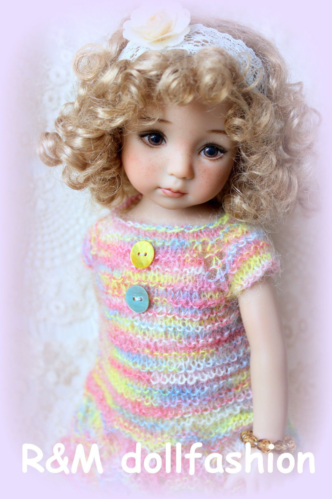 Cabbage Patch Kids Blonde Curly Hair Doll 1986 Blue Eyes Xavier ...