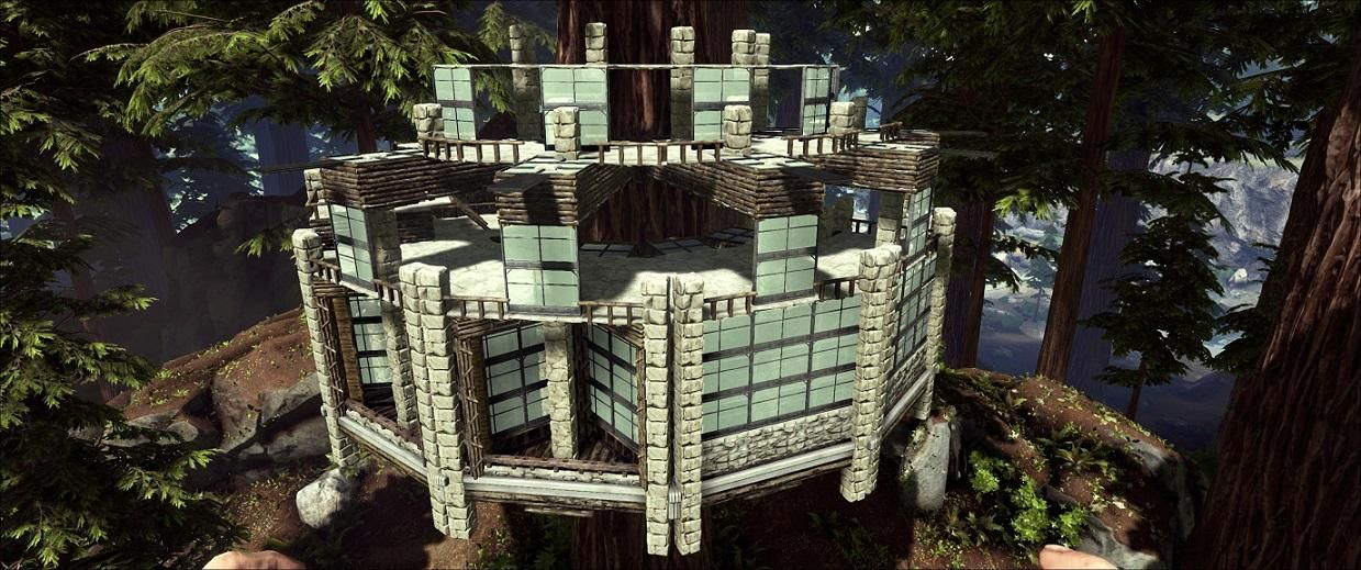 TREE HOUSE Ark Survival 3 Pinterest Tree houses and Video games - best of les blueprint ark