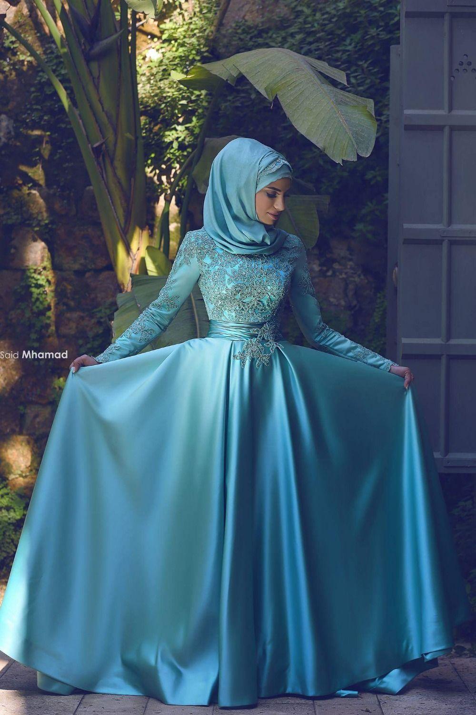 Pin von Belinda auf Hijab Mode  Abendkleid, Islamische mode