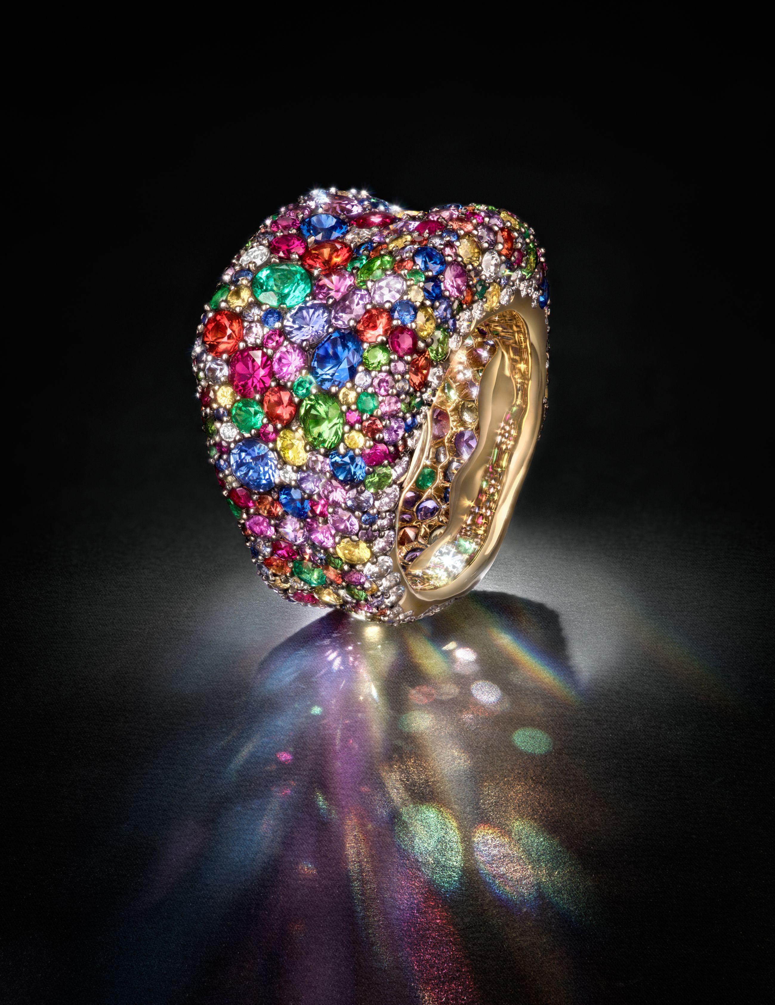 Fabergé Emotion Ring  Fabergé  Emotion  ring  gemstones   Everything ... 74b2b620c6