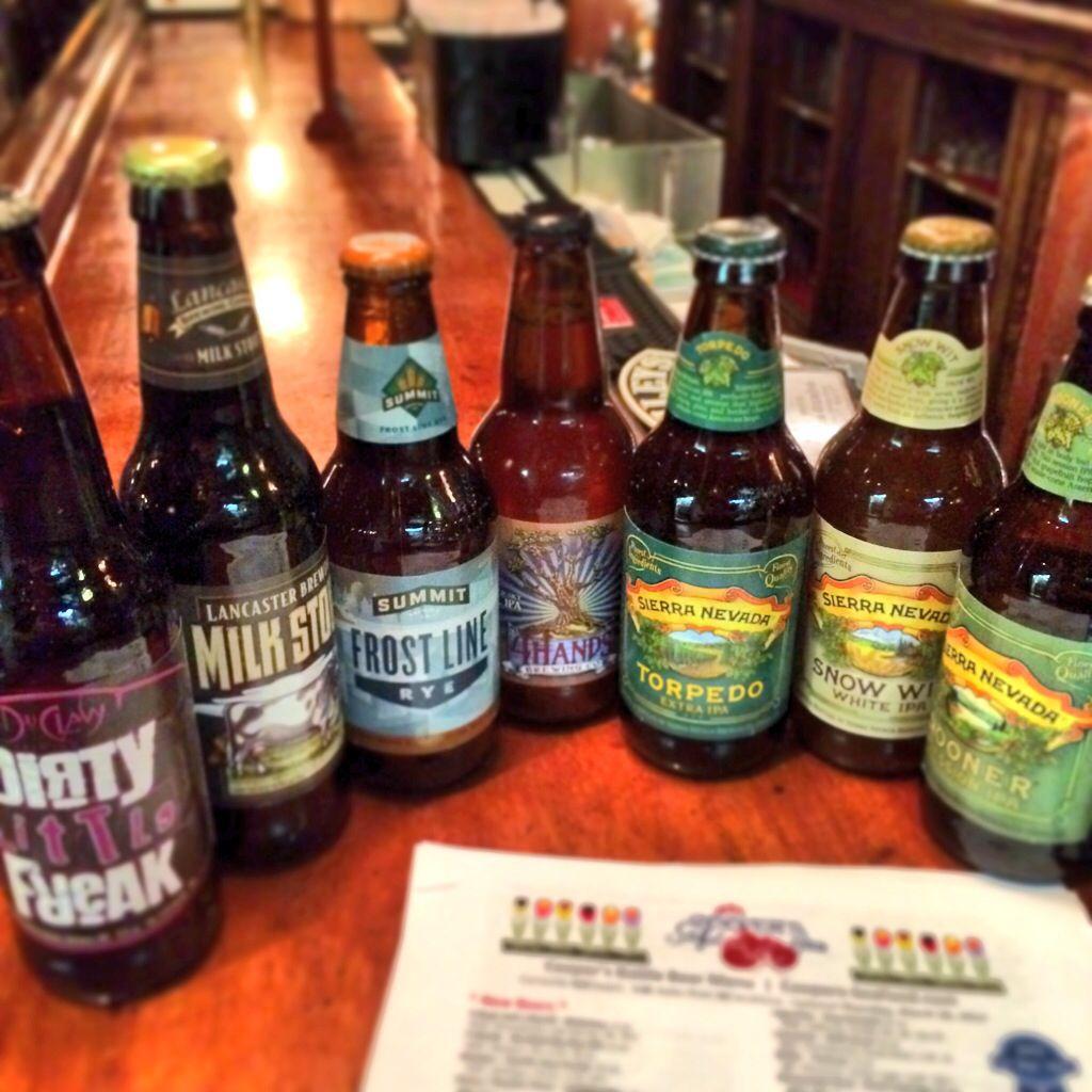 New Additions To Coopers Scranton Beer List Currently 450 Bottles Beer Bottle Craft Beer