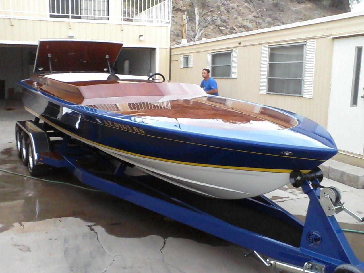 Schiada 24 W/ wood deck New Fast Boats, Speed Boats, Power Boats,