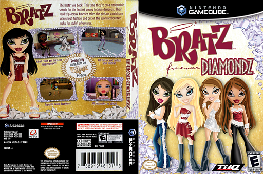Bratz Forever Diamondz Iso For Gcn Bratz Forever Diamondz Forever Gamecube
