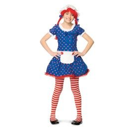 Image detail for -Raggedy Ann Costume for Girls  sc 1 st  Pinterest & Image detail for -Raggedy Ann Costume for Girls | costume ideas for ...