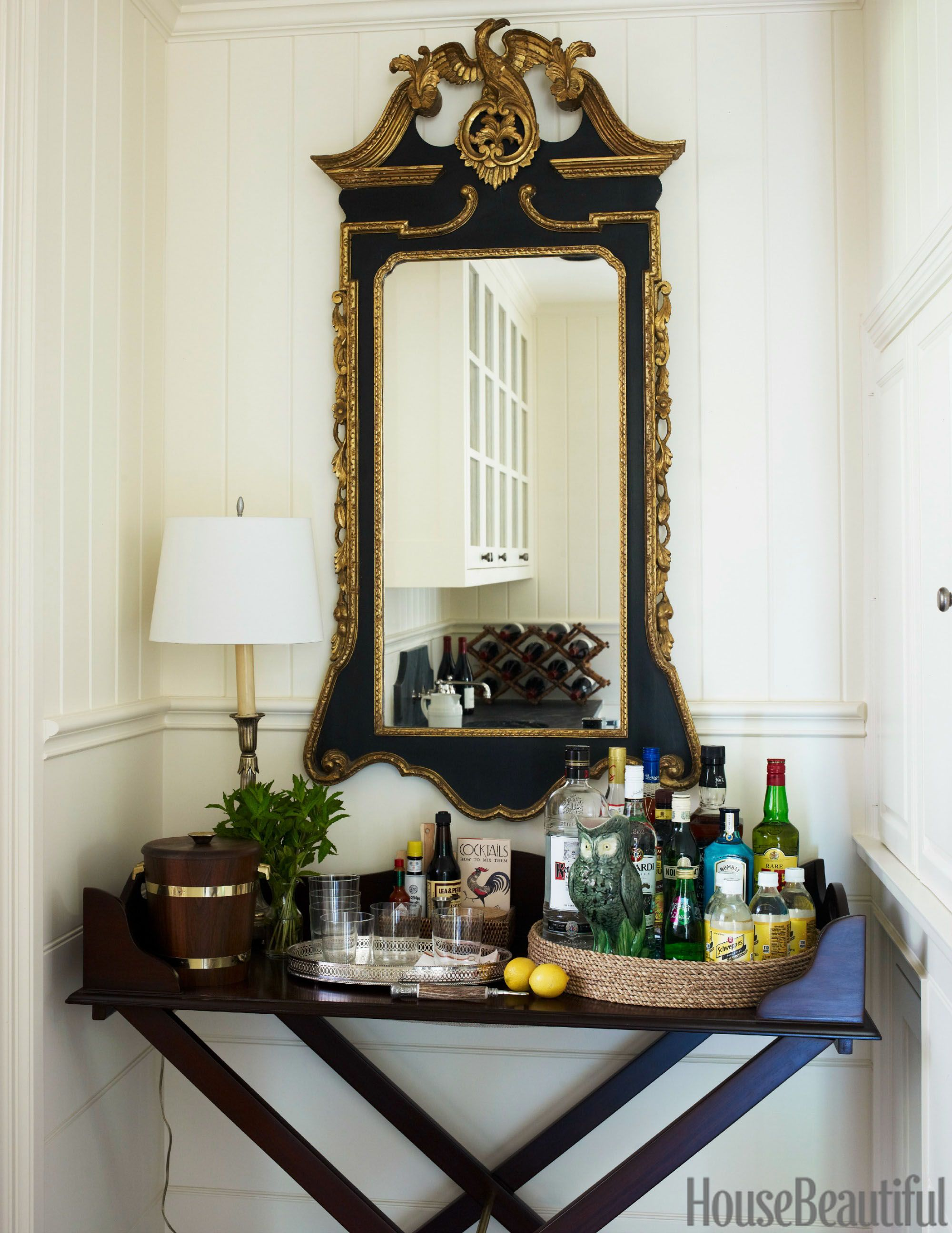 Charmant A Traditional Georgian Manor Designed For A Southern Gentleman | Small Bars,  Trays And Bar