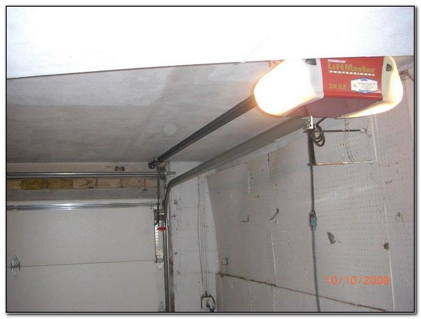 Mounting Garage Door Opener Off Center Check More At Http Gomore