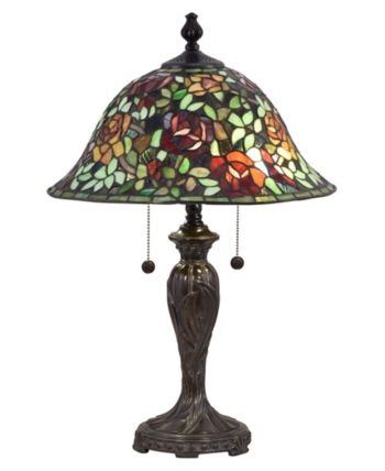 Dale Tiffany Rose Collage Tiffany Table Lamp Reviews Home Macy S Tiffany Table Lamps Tiffany Lamps Table Lamp