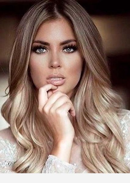 Blue Eyes And Cute Hair Color Fall