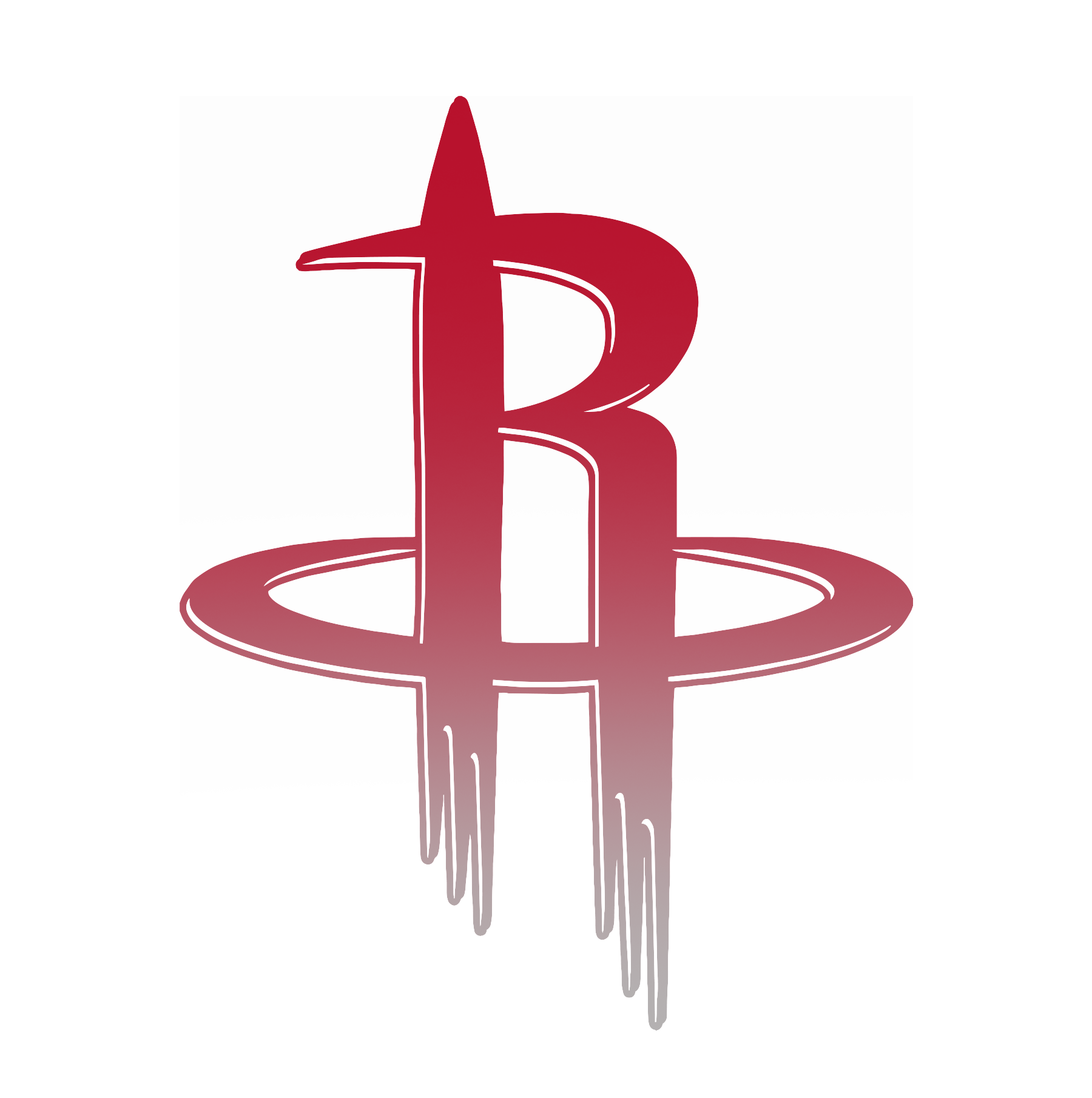 Rockets 2 color NBA Digitalart design sports
