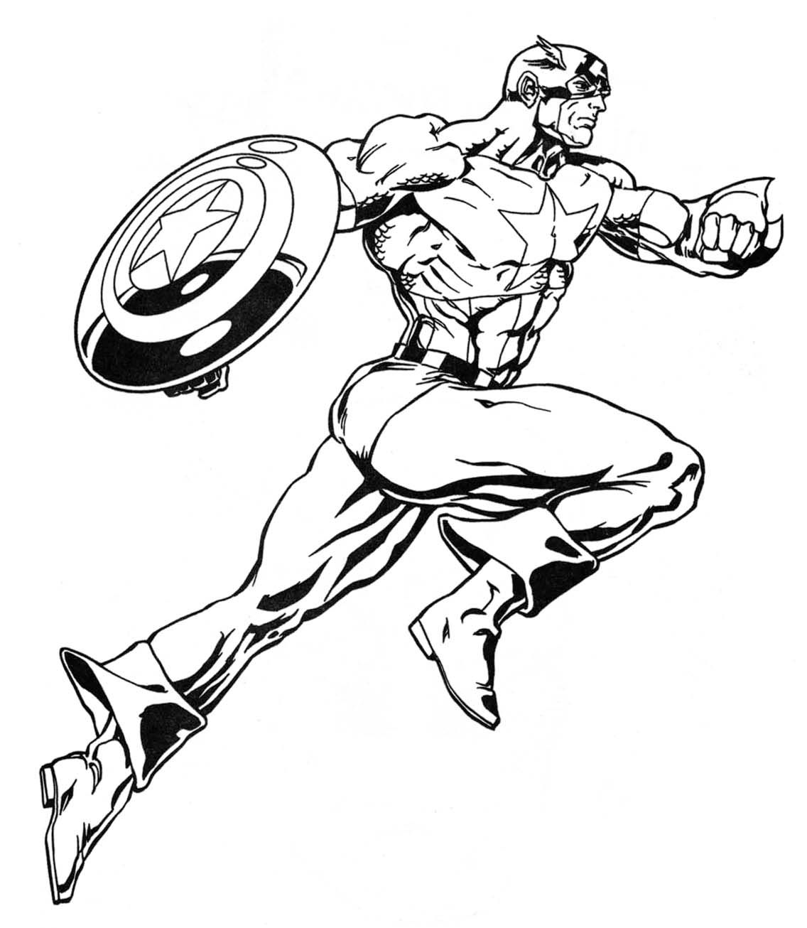 super heroes drawing google search - Marvel Coloring Book