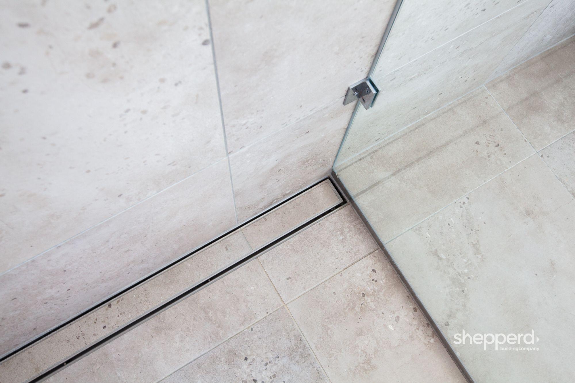 Tile Insert Floor Drain Shepperd Building Company Floor Drains Building Companies Waterfront