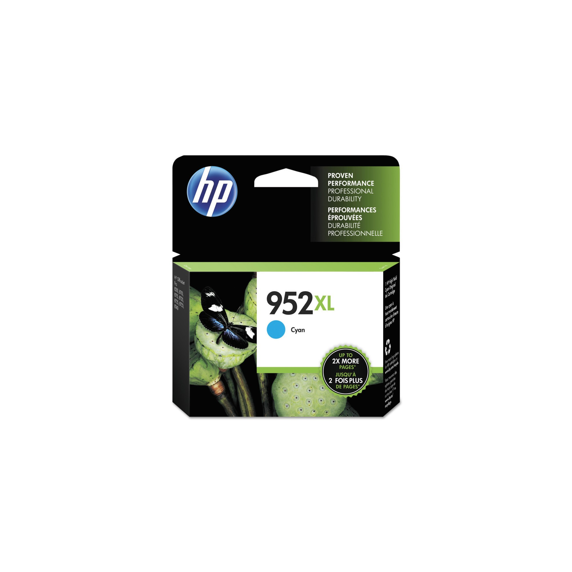 Hp 952xl High Yield Original Single Ink Cartridge Cyan Blue
