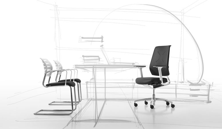 X Code Office Chairs Chair Stuhl Chaise Design Made In Germany Dauphin Ergonomic Seating Design Chair
