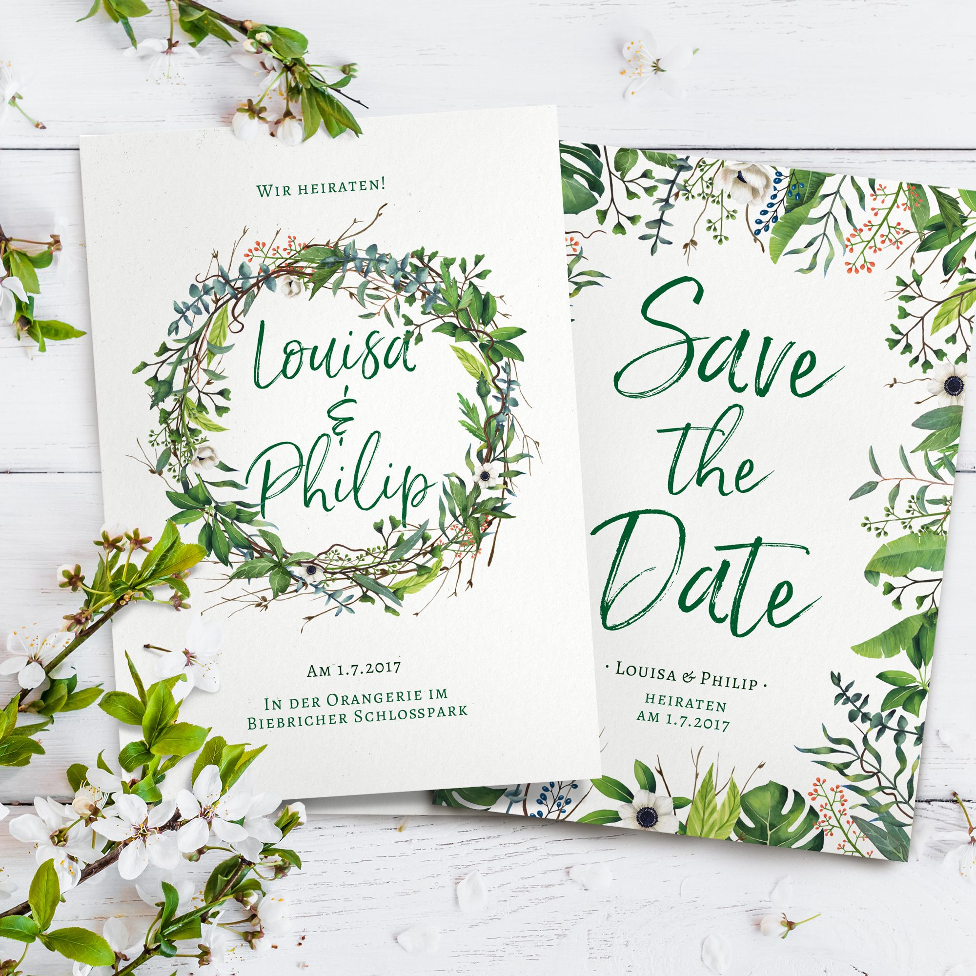Save The Date Und Einladung Welcher Text Fur Die