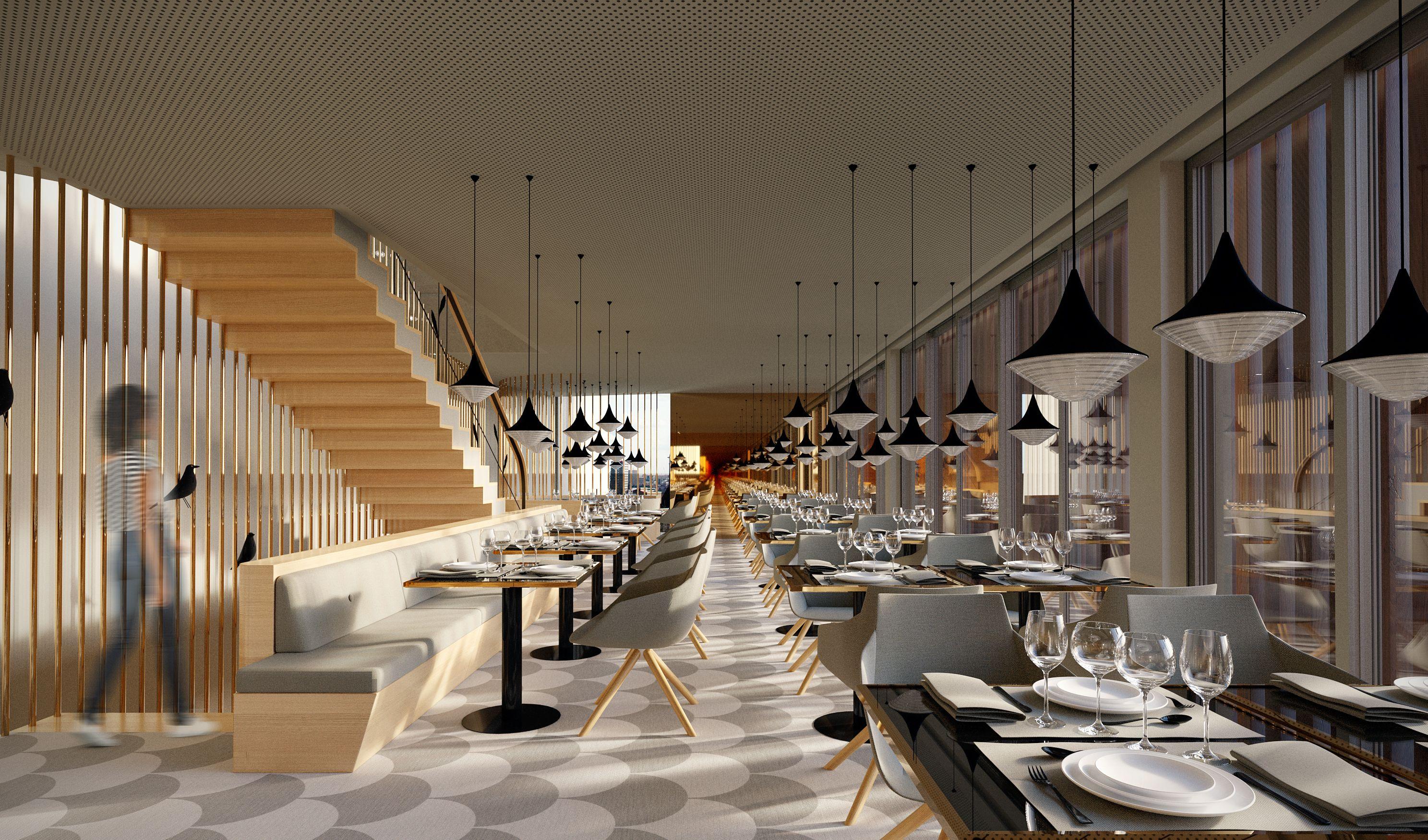 #MeirelesArquitectos #3D #3Drendering #Render #Architecture #Perspective  #Building #Restaurant