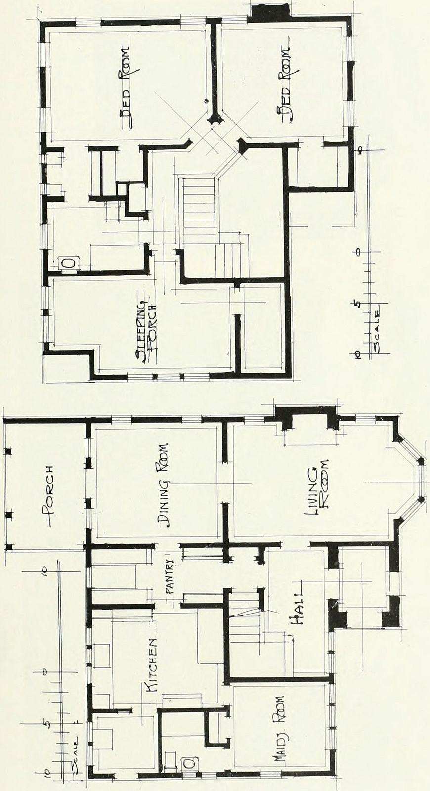 Image From Page 214 Of Architect And Engineer 1905 Vintage House Plans Architectural House Plans House Plans