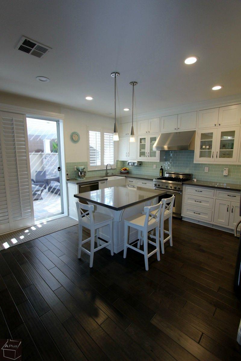Orange County Irvine Kitchen Remodel With Custom Cabinets