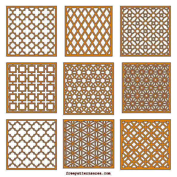 Geometric motifs repeating pattern vectors laser cutting laser cut cnc router cutting wood grill panels patterns laser cutting cnc router cnc maxwellsz