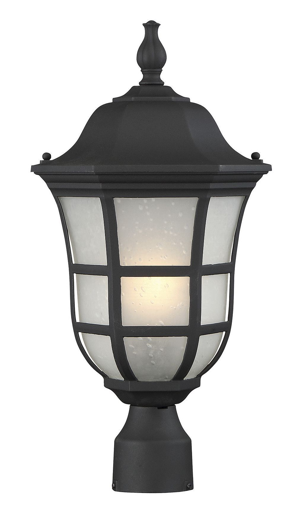 heuser 1 light outdoor post light products rh pinterest es