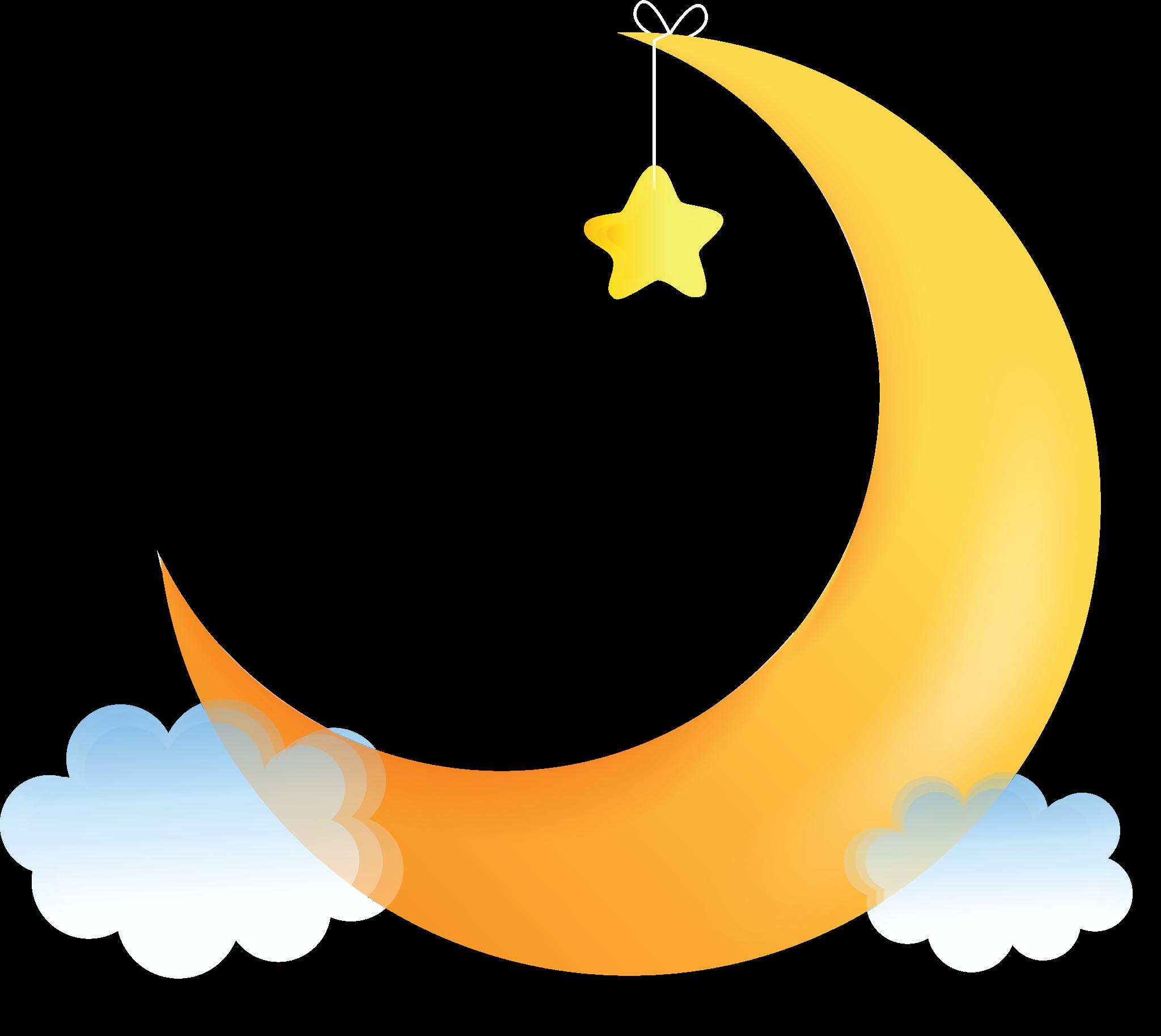 Half Moon Png Images Clip Art Moon Letters