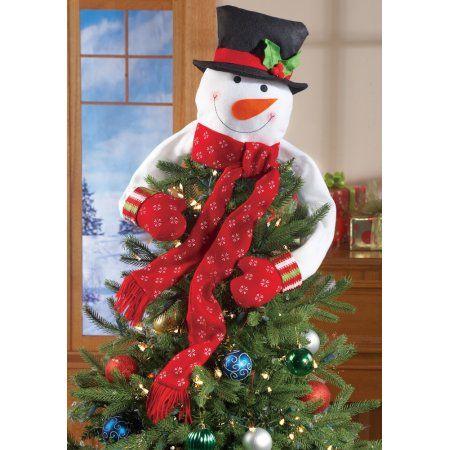 Buy Christmas Snowman Top of the Tree Hugger at Walmart random