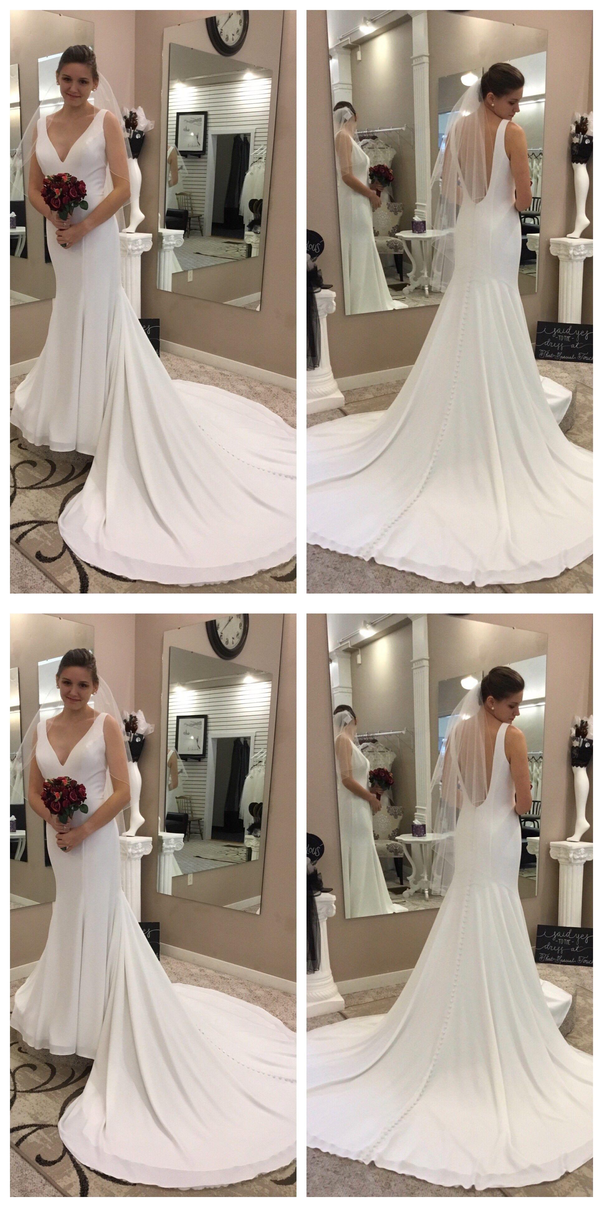 Ivory beach wedding dresses  Mermaid VNeck Court Train Sleeveless Chiffon Wedding Dress  Prom
