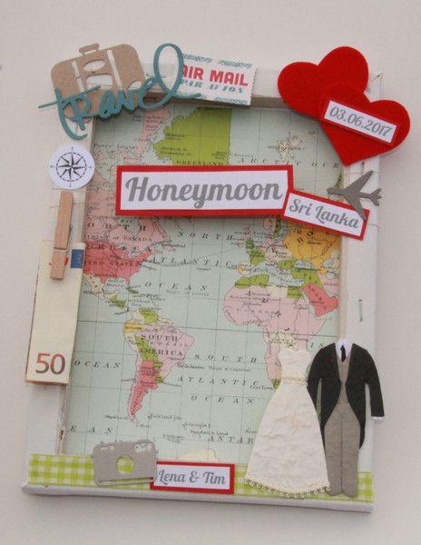 Geldgeschenke Geldgeschenk Zur Hochzeit Honeymoon Ein