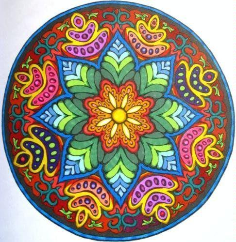 AmazonSmile: Customer Reviews: Mystical Mandala Coloring Book (Dover ...