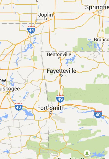 State Parks In Arkansas Map.Prairie Grove State Park Features Intact Civil War Battlefield