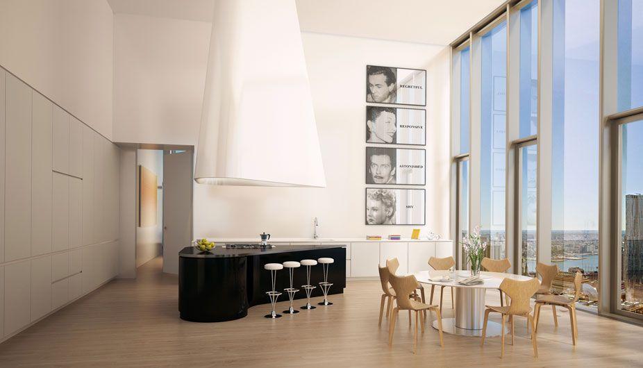 New Yorker Appartment küche design