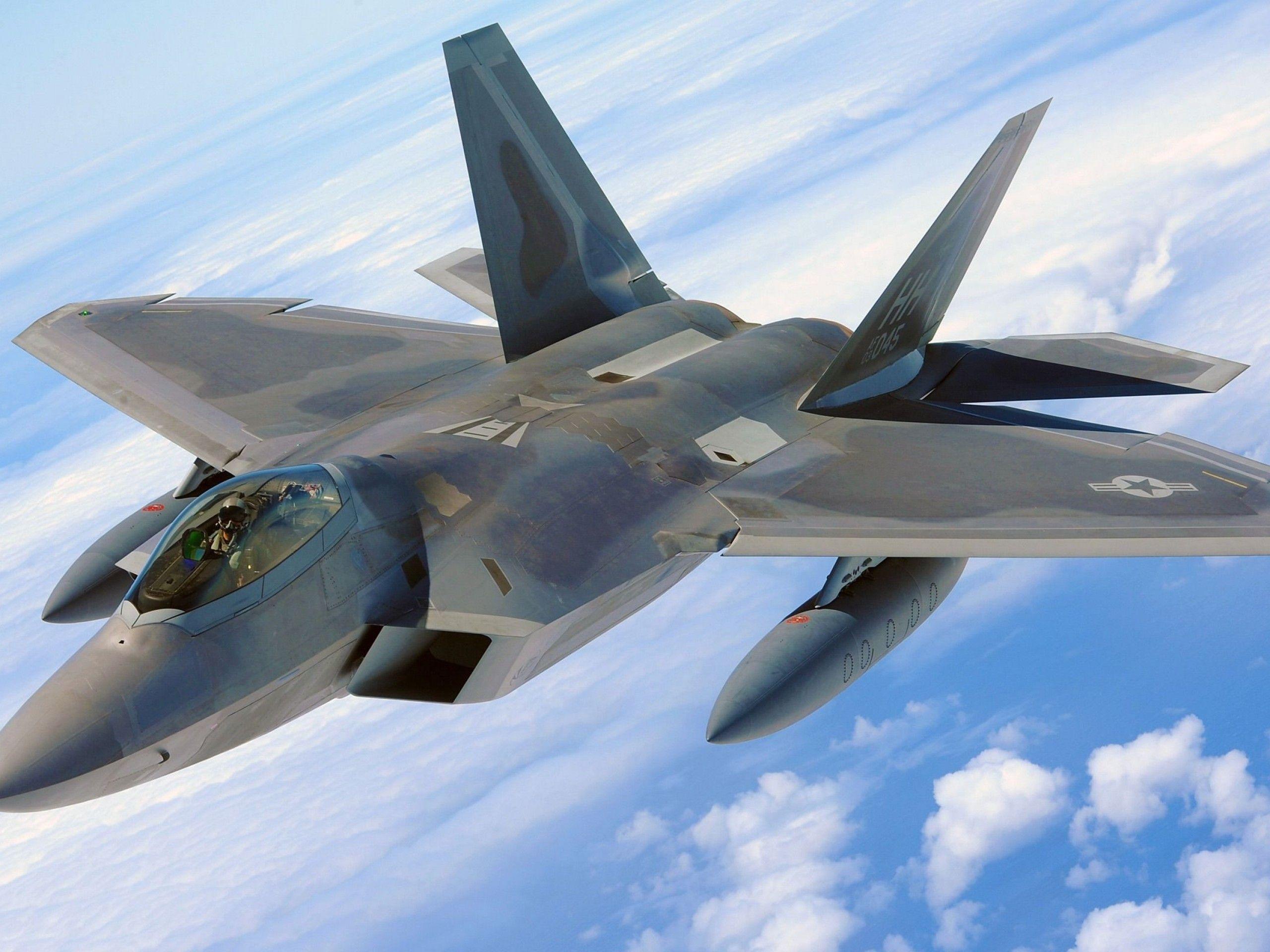 Lockheed Martin F 22 Raptor Fighter Jets Aircraft Military Aircraft