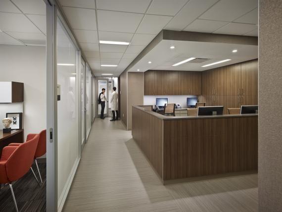 Fine Tailoring At The Preston Robert Tisch Center For Men S Health Hospital Design Healthcare Design Health Design
