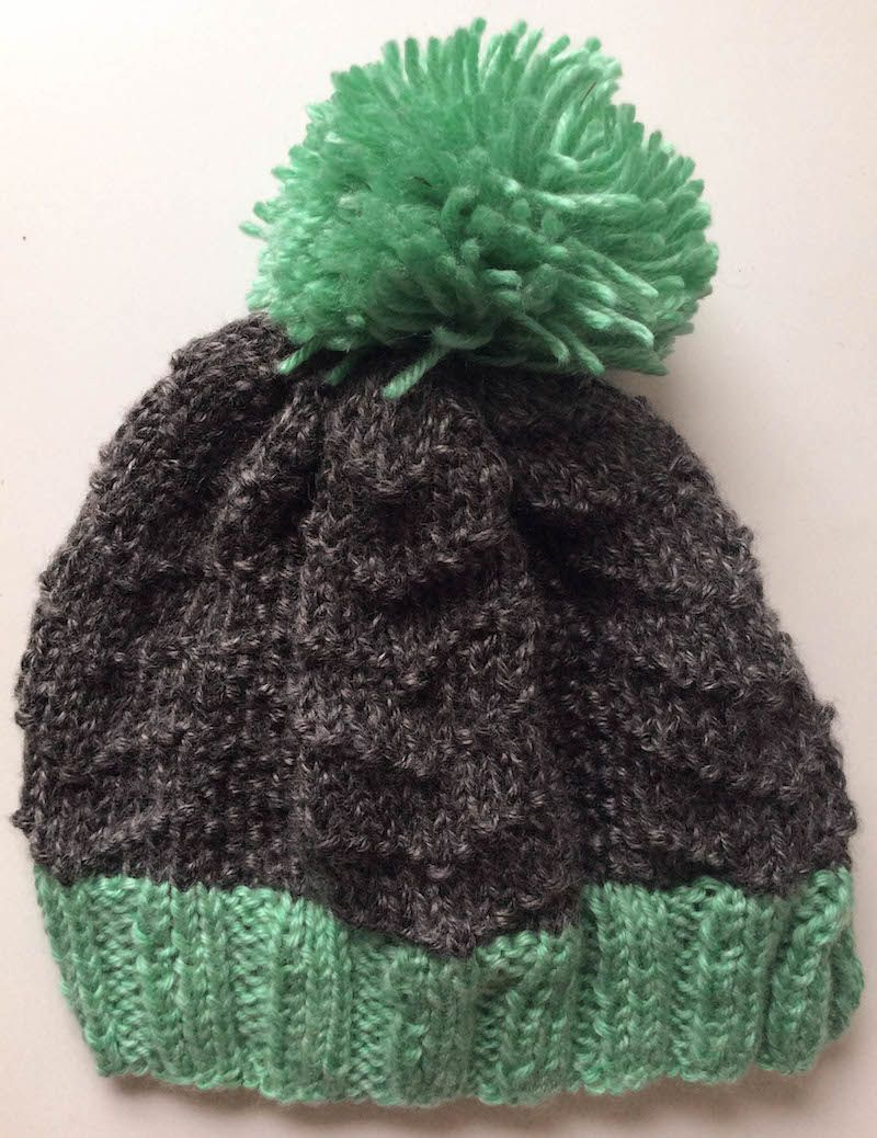 Knitting Pattern Bird Tracks Beanie In Lion Brand Heartland Knitting Patterns Free Hats Knitting Knitted Hats