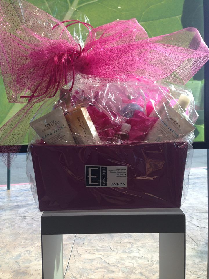 Donate $1 to enter our AVEDA Pink Basket to help raise money for Links for Life
