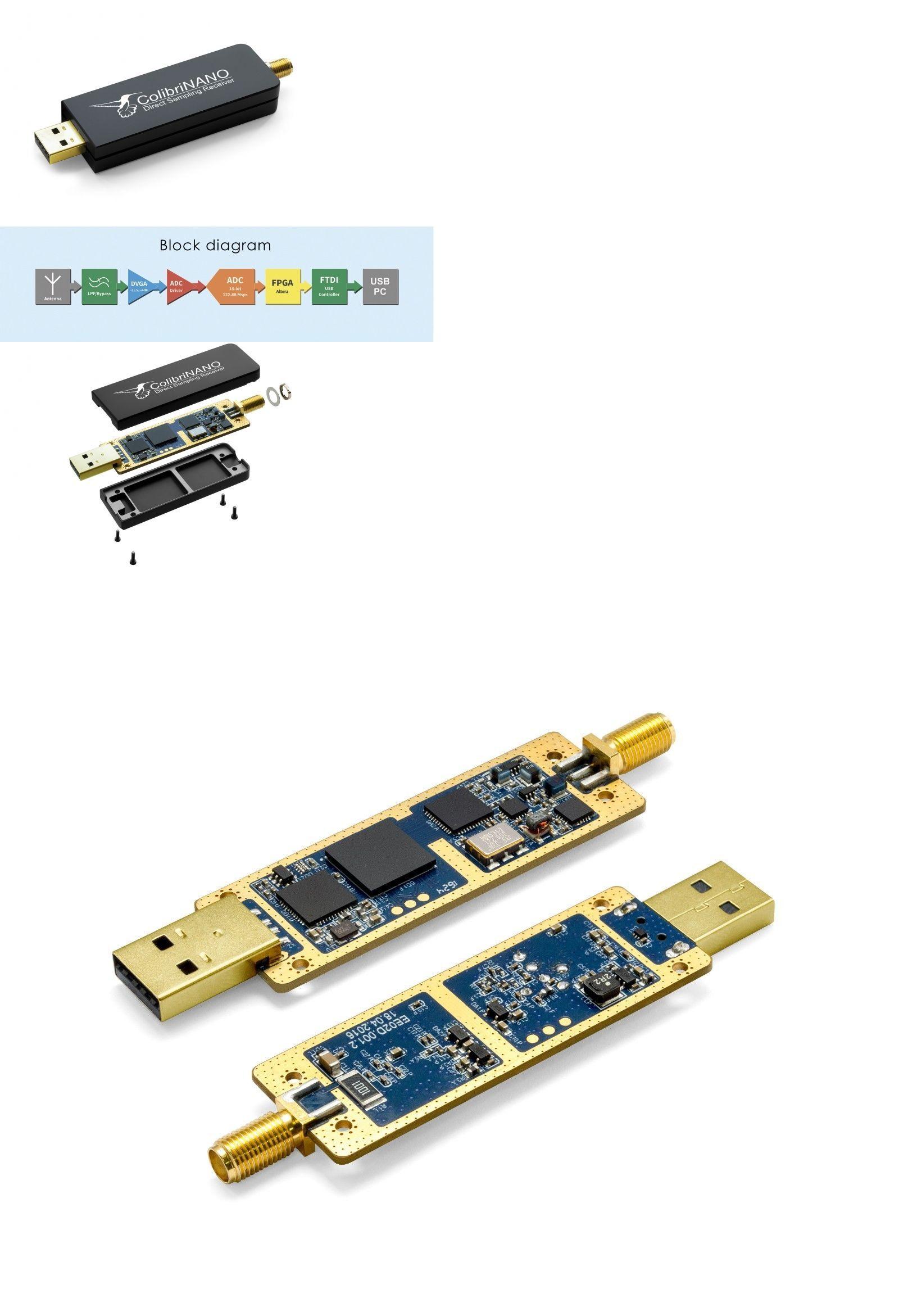 Ham Radio Receivers New Expert Electronics Colibrinano Sdr Receiver 0 01 500mhz 14bit Adc Pre Order Buy It Now Only 249 95 On Ebay Ham Radio Radio Ebay