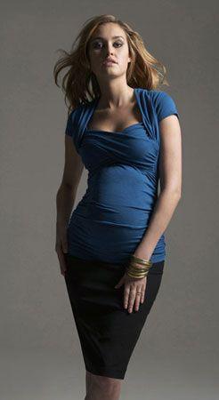 Vestidos formales para embarazadas santiago