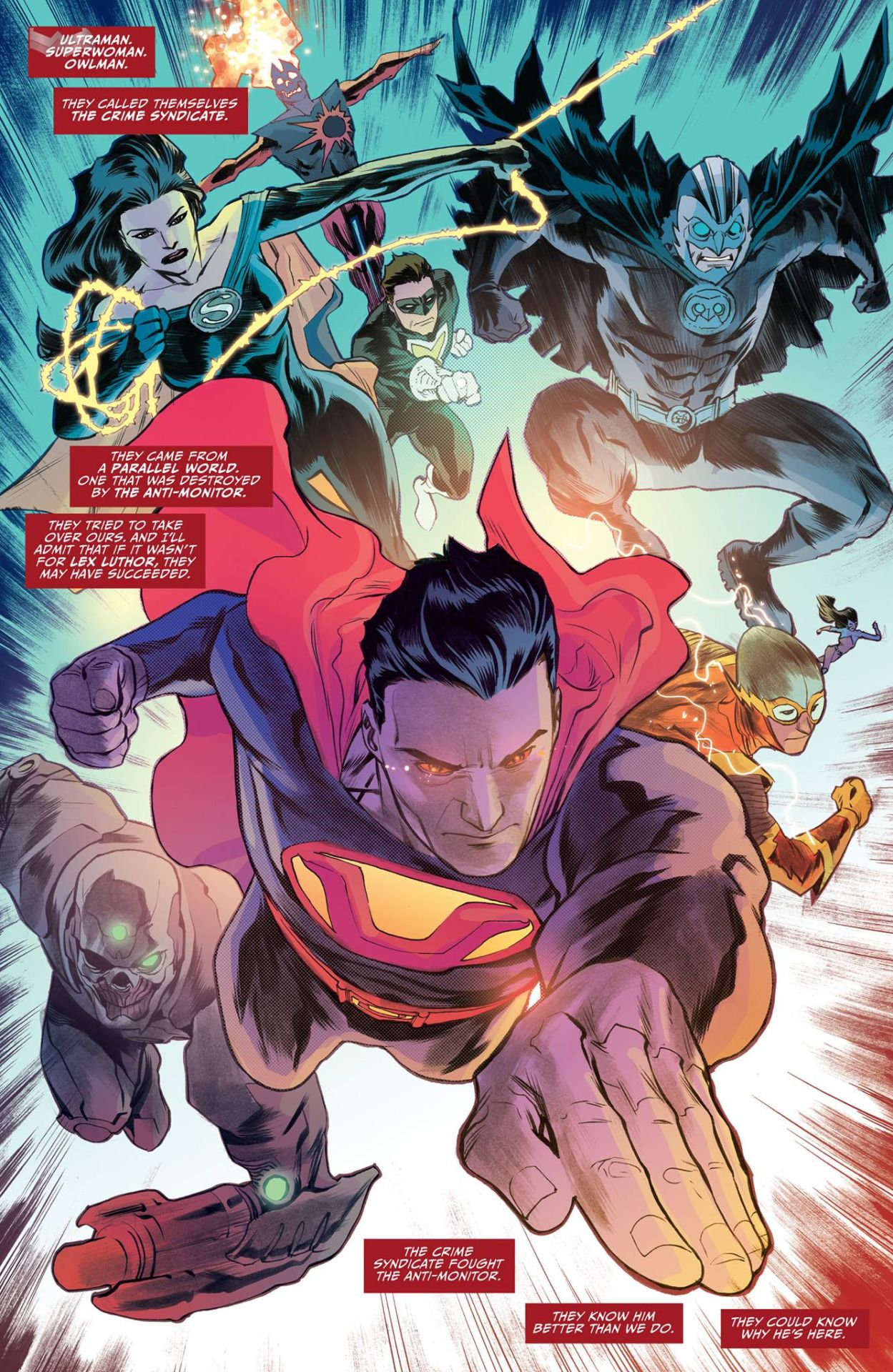 Justice League #46 interior art by Francis Manapul * | DC Comics ...