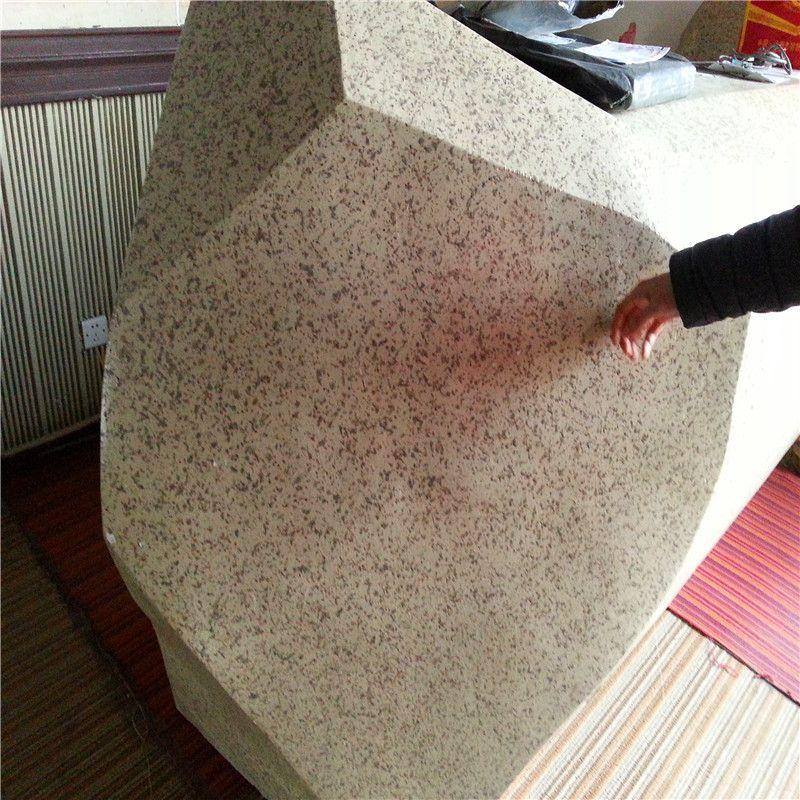 Color Cement Coated Eps Foam Stone Eps Foam Coating