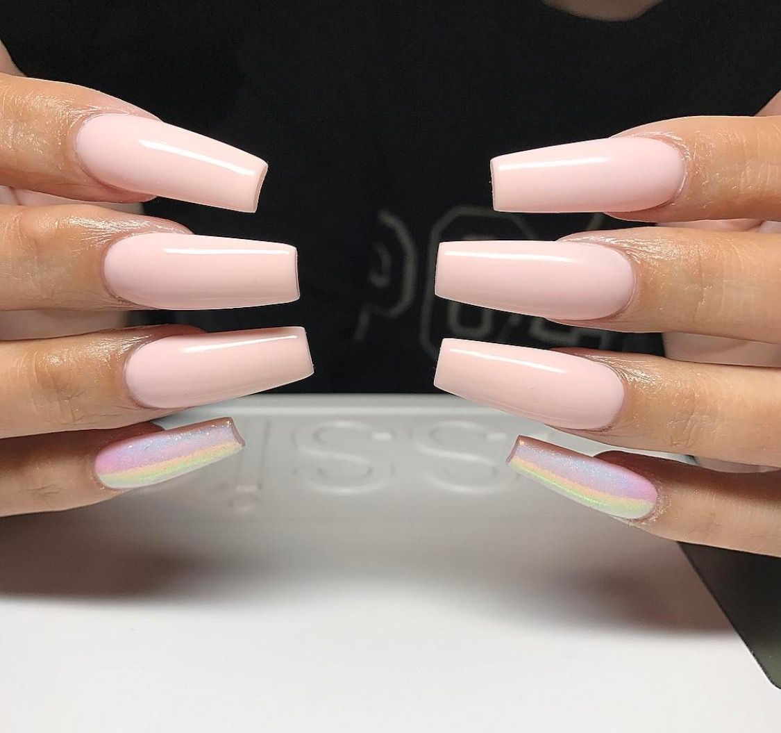 Pink Nails ! Pinterest: Hair,Nails, And Style | N A I L S ...