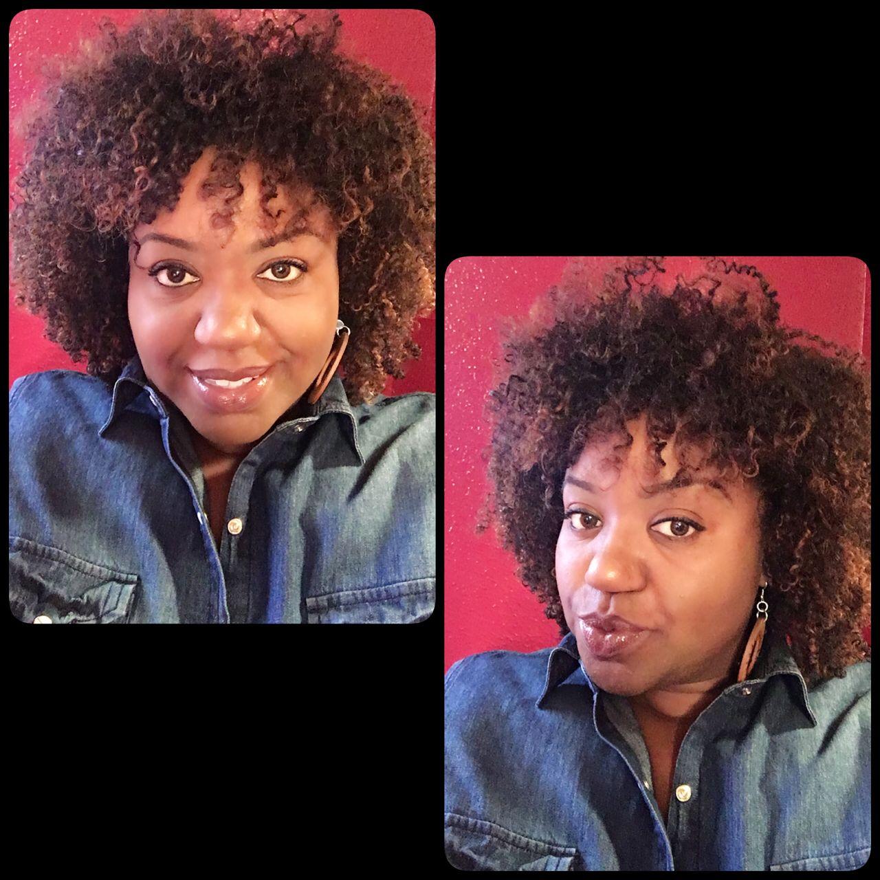 Defined curls with coconut Shea curling gel by Eden body works
